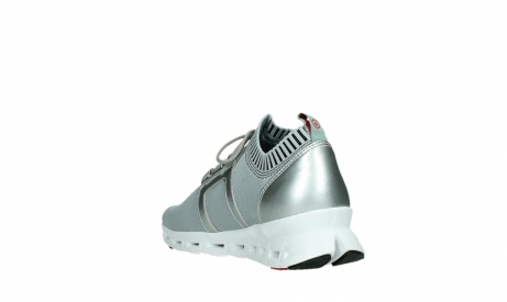 wolky lace up shoes 02052 tera 90201 silver grey leather_17