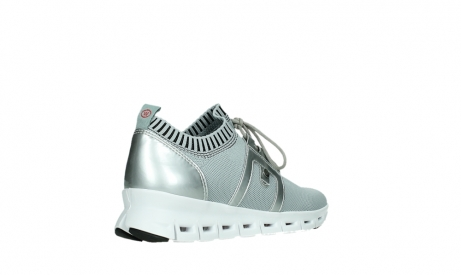 wolky lace up shoes 02052 tera 90201 silver grey leather_22