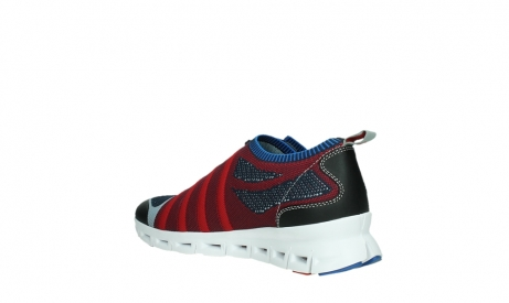 wolky lace up shoes 02054 nero 90580 red blue_16