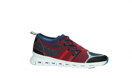 wolky lace up shoes 02054 nero 90580 red blue_2