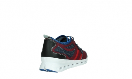 wolky lace up shoes 02054 nero 90580 red blue_21