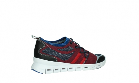 wolky lace up shoes 02054 nero 90580 red blue_23
