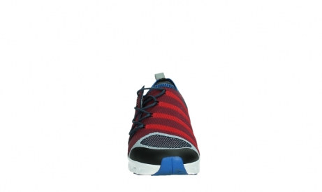 wolky lace up shoes 02054 nero 90580 red blue_7