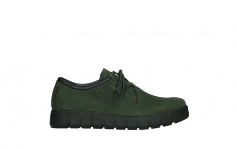 wolky lace up shoes 02325 vic 16735 forest green nubuck_1