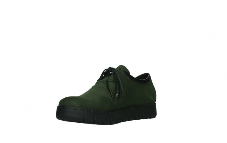 wolky lace up shoes 02325 vic 16735 forest green nubuck_10