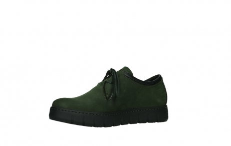 wolky lace up shoes 02325 vic 16735 forest green nubuck_11