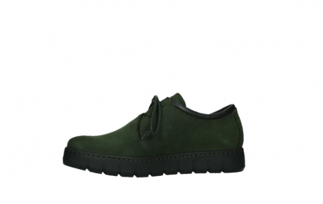 wolky lace up shoes 02325 vic 16735 forest green nubuck_12