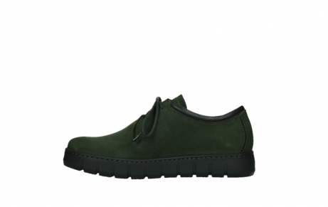 wolky lace up shoes 02325 vic 16735 forest green nubuck_13