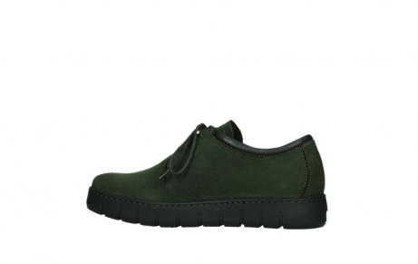 wolky lace up shoes 02325 vic 16735 forest green nubuck_14