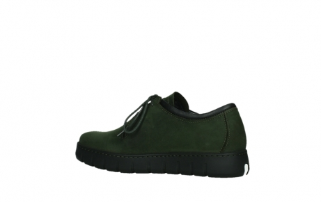 wolky lace up shoes 02325 vic 16735 forest green nubuck_15