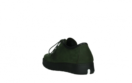 wolky lace up shoes 02325 vic 16735 forest green nubuck_17