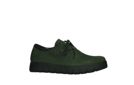 wolky lace up shoes 02325 vic 16735 forest green nubuck_2