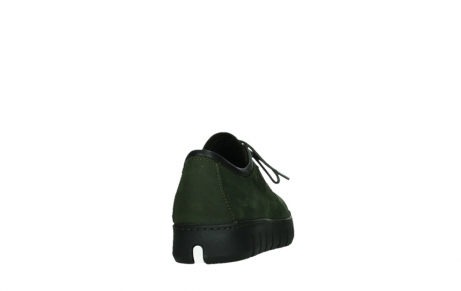 wolky lace up shoes 02325 vic 16735 forest green nubuck_20