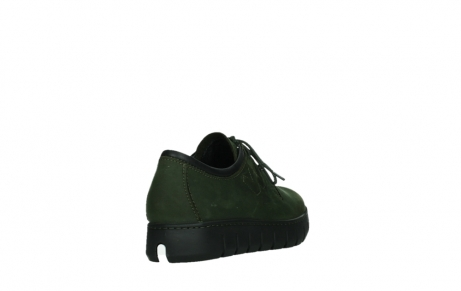 wolky lace up shoes 02325 vic 16735 forest green nubuck_21
