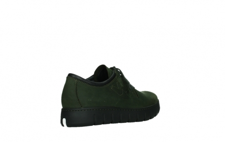 wolky lace up shoes 02325 vic 16735 forest green nubuck_22