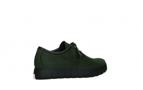 wolky lace up shoes 02325 vic 16735 forest green nubuck_23