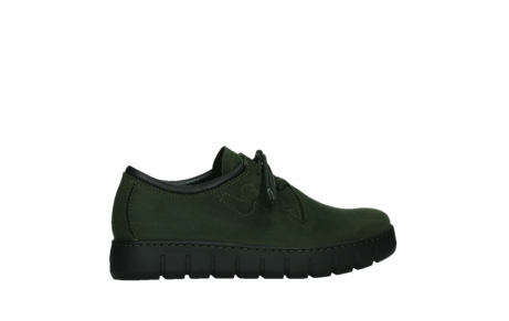 wolky lace up shoes 02325 vic 16735 forest green nubuck_24