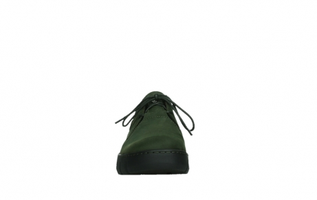wolky lace up shoes 02325 vic 16735 forest green nubuck_7