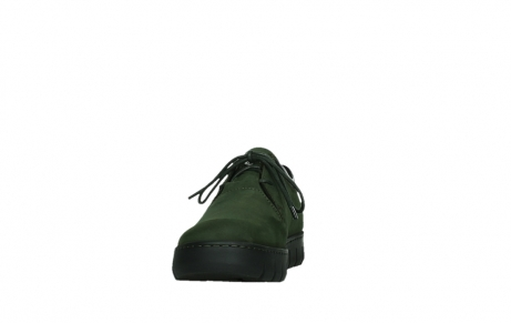 wolky lace up shoes 02325 vic 16735 forest green nubuck_8