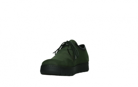 wolky lace up shoes 02325 vic 16735 forest green nubuck_9
