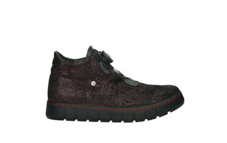 wolky lace up shoes 02326 rap 43510 bordo metalsuede_1