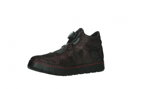 wolky lace up shoes 02326 rap 43510 bordo metalsuede_11