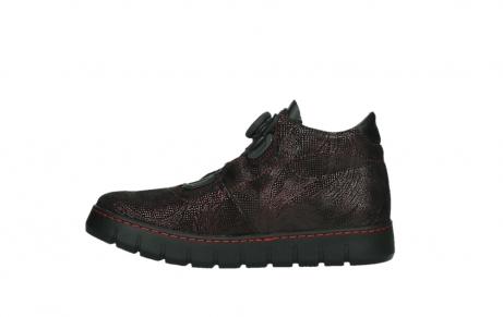 wolky lace up shoes 02326 rap 43510 bordo metalsuede_13