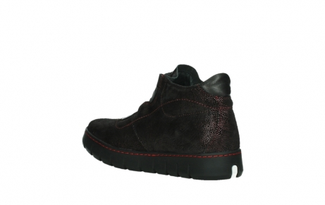 wolky lace up shoes 02326 rap 43510 bordo metalsuede_16