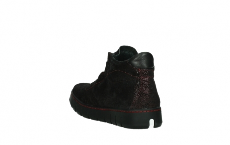 wolky lace up shoes 02326 rap 43510 bordo metalsuede_17