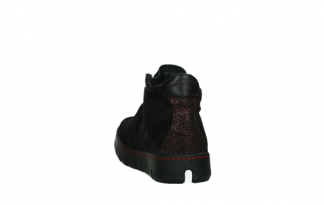 wolky lace up shoes 02326 rap 43510 bordo metalsuede_18