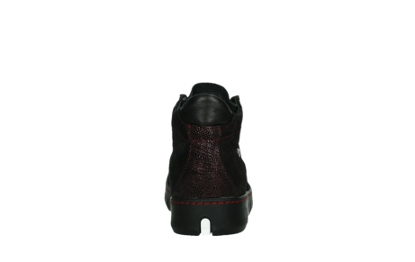 wolky lace up shoes 02326 rap 43510 bordo metalsuede_19