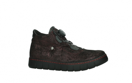 wolky lace up shoes 02326 rap 43510 bordo metalsuede_2