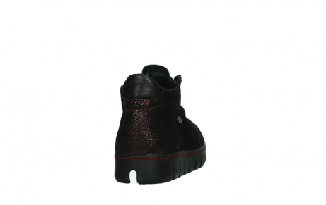 wolky lace up shoes 02326 rap 43510 bordo metalsuede_20
