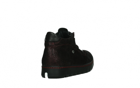 wolky lace up shoes 02326 rap 43510 bordo metalsuede_21