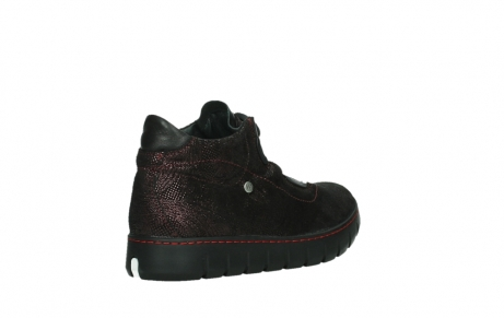 wolky lace up shoes 02326 rap 43510 bordo metalsuede_22