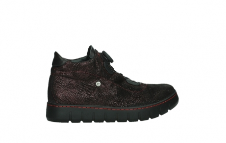 wolky lace up shoes 02326 rap 43510 bordo metalsuede_24