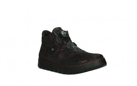 wolky lace up shoes 02326 rap 43510 bordo metalsuede_4