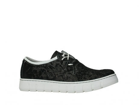 wolky lace up shoes 02327 vic summer 47217 anthracite summer printed suede_2