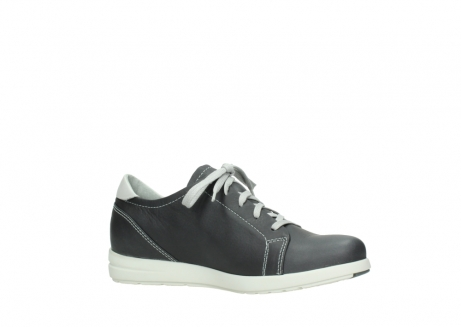 wolky lace up shoes 02420 kinetic 30210 anthracite leather_15