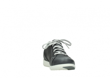 wolky lace up shoes 02420 kinetic 30210 anthracite leather_18