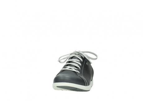 wolky lace up shoes 02420 kinetic 30210 anthracite leather_20