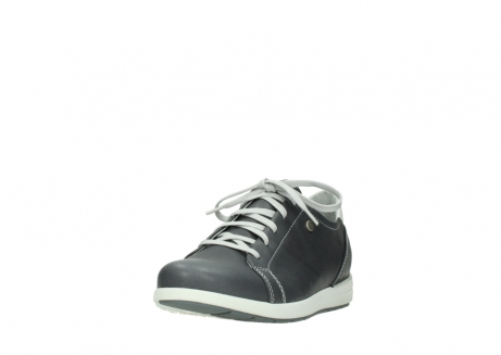 wolky lace up shoes 02420 kinetic 30210 anthracite leather_21
