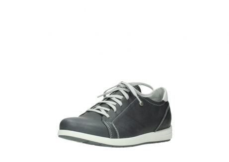 wolky lace up shoes 02420 kinetic 30210 anthracite leather_22