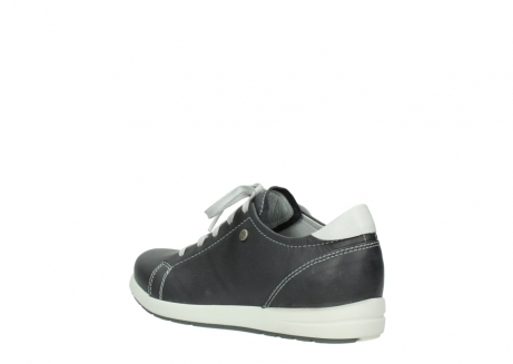 wolky lace up shoes 02420 kinetic 30210 anthracite leather_4
