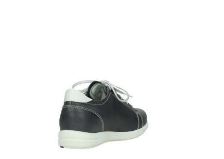 wolky lace up shoes 02420 kinetic 30210 anthracite leather_9