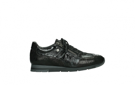 wolky lace up shoes 02525 yell 36000 shiny black leather_1