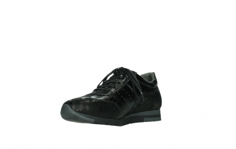 wolky lace up shoes 02525 yell 36000 shiny black leather_10