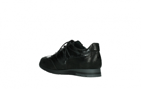 wolky lace up shoes 02525 yell 36000 shiny black leather_16