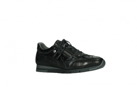 wolky lace up shoes 02525 yell 36000 shiny black leather_3