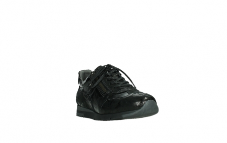 wolky lace up shoes 02525 yell 36000 shiny black leather_5